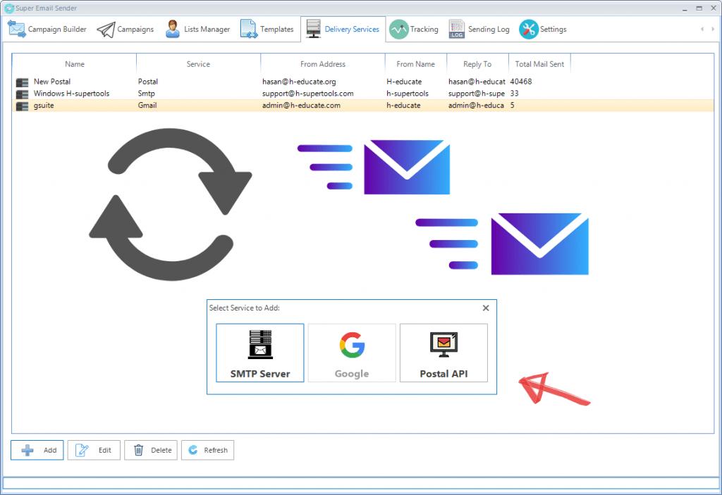 Super Email Sender CodeROG