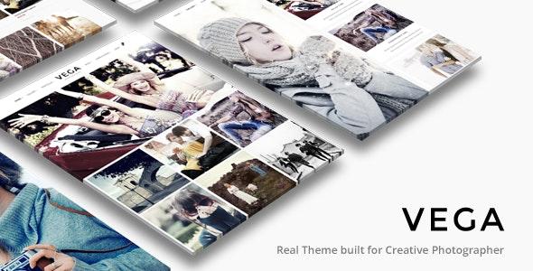 Vega   Photography WordPress theme nulled