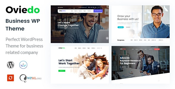 Oviedo- Multipurpose Business WordPress Theme nulled